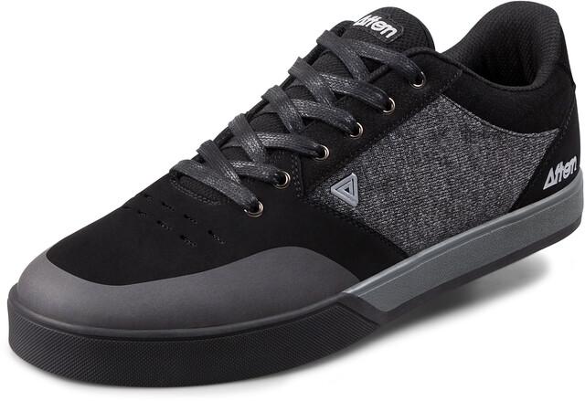 Afton Shoes Keegan Flatpedal Shoes Herren blackheathered